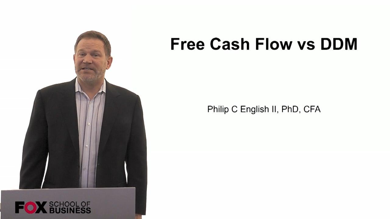 60115Free Cash Flow vs DDM