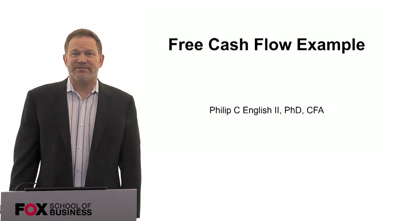 60116Free Cash Flow Example