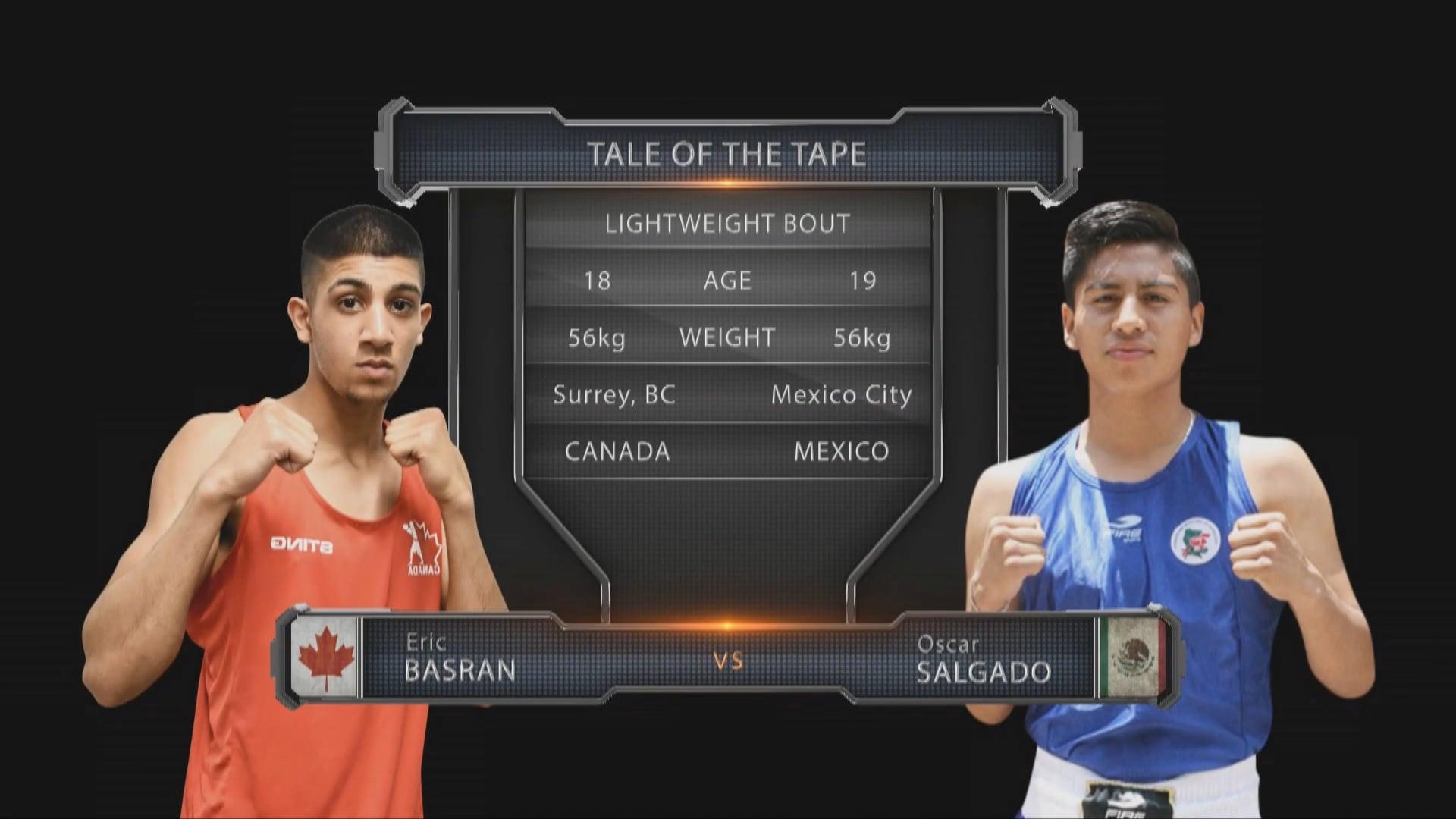Eric Basran (CAN) vs Oscar Salgado (MEX)