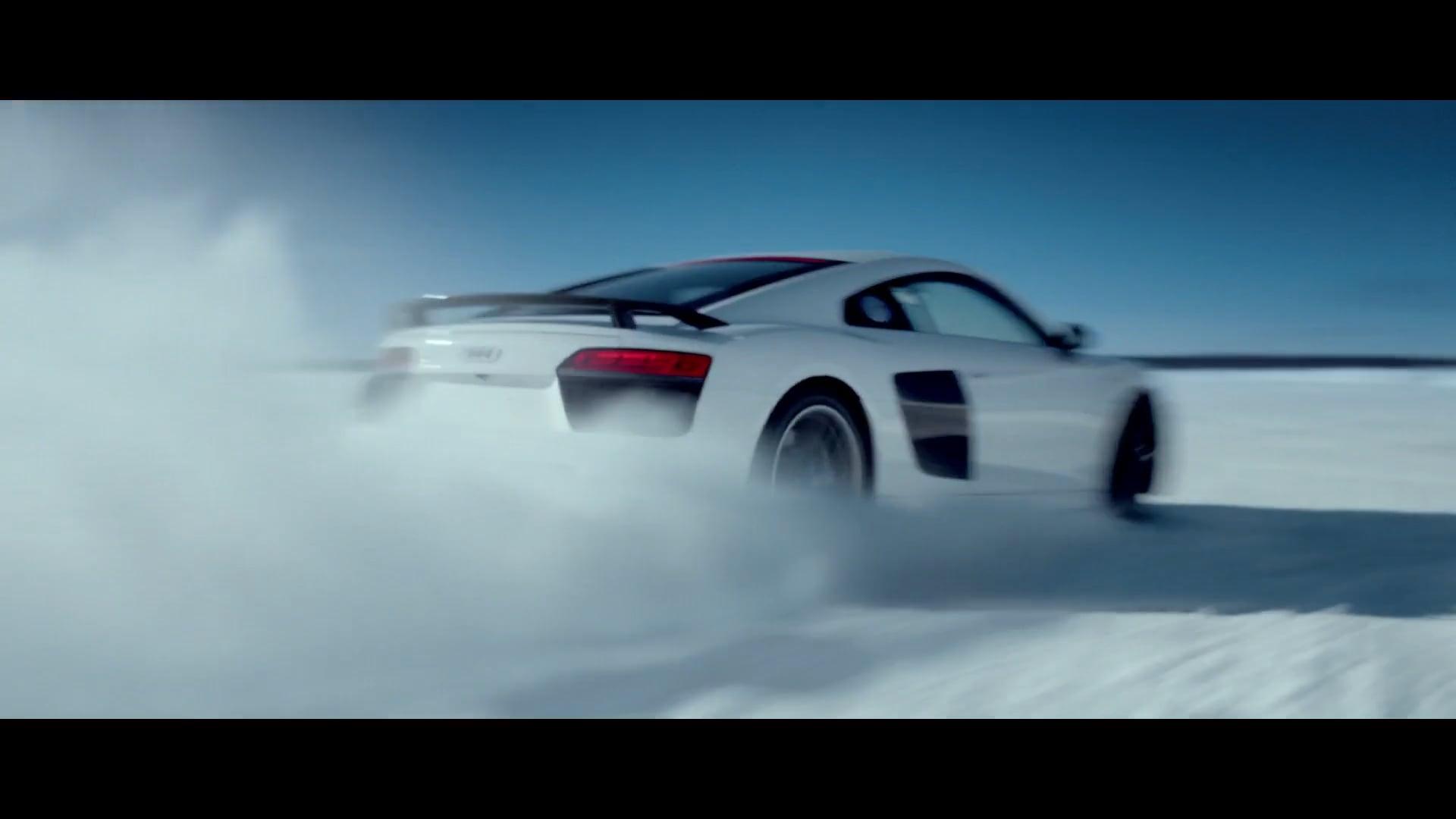 Audi R8 - Snow