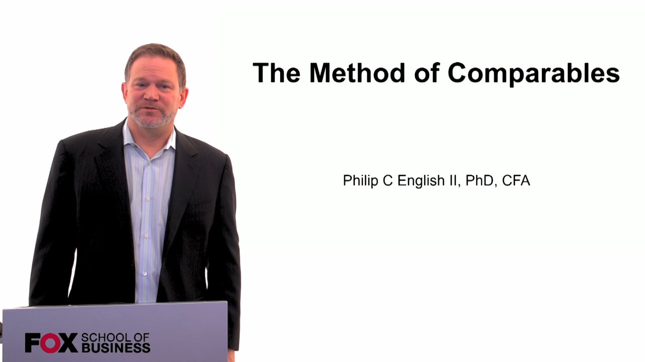 60118The Method of Comparables