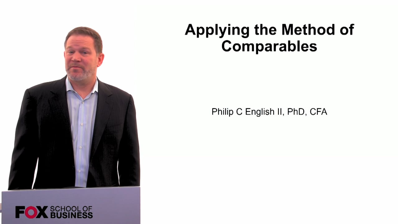60121Applying the Method of Comparables