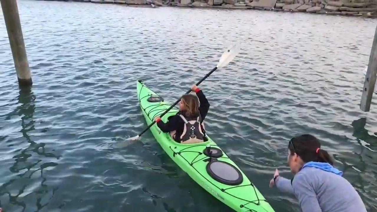 Adventure  Detroit River Full Moon Kayak