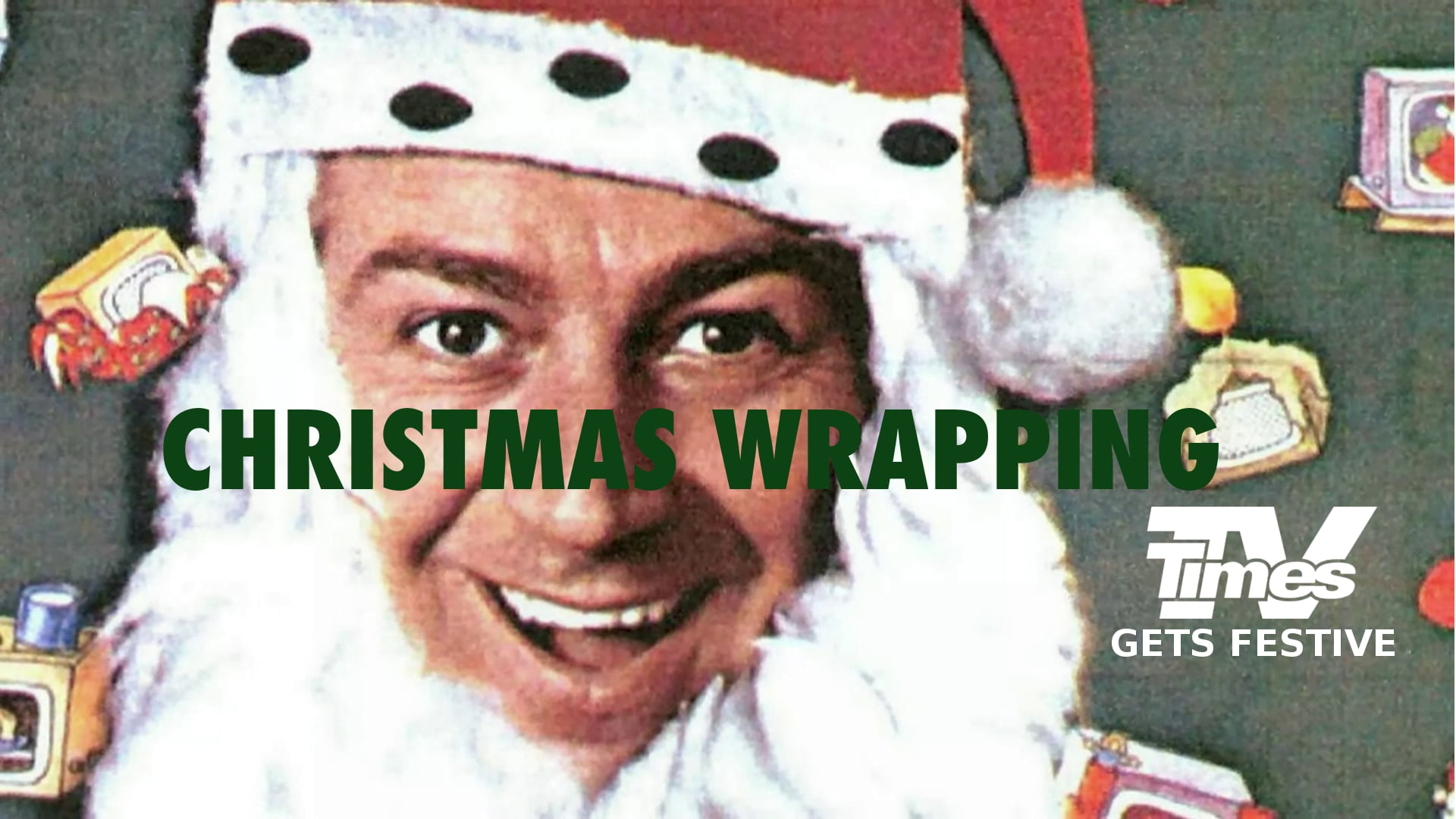 So Much More Christmas Wrapping: TV Times Gets Festive