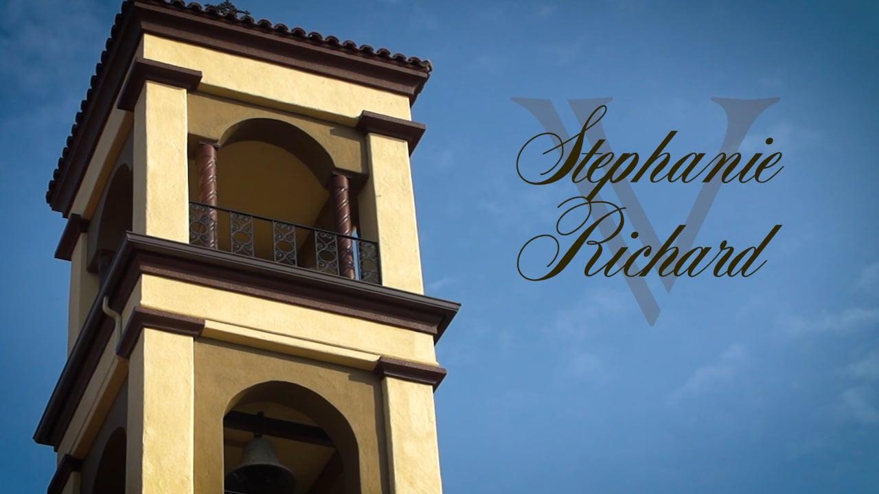 Stephanie & Richard's Wedding Video Highlight ~ St. Mary's & Wolf Lakes Park