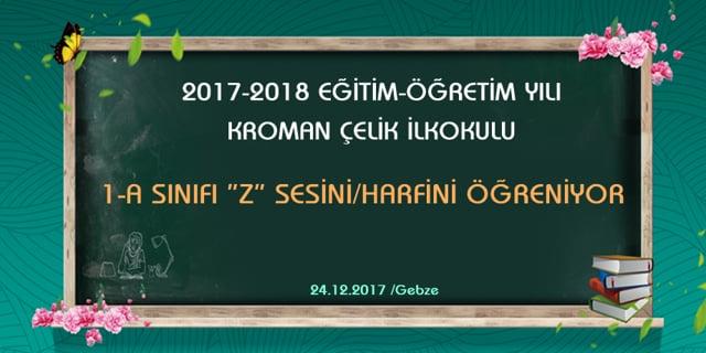 1-A SINIFI ÇİÇEK TV (2017-2018)