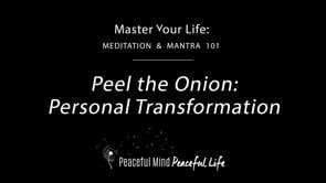 Peel the Onion Personal Transformation