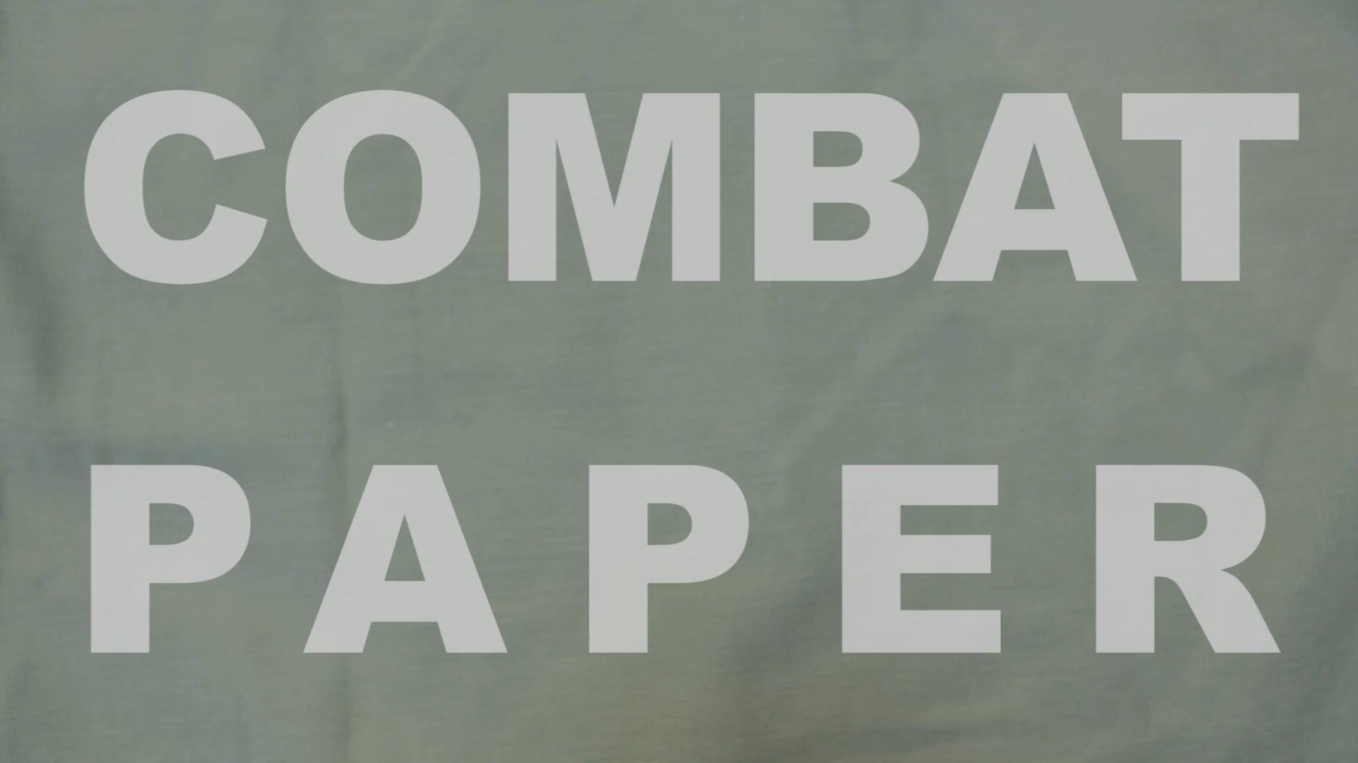 Make Combat Paper