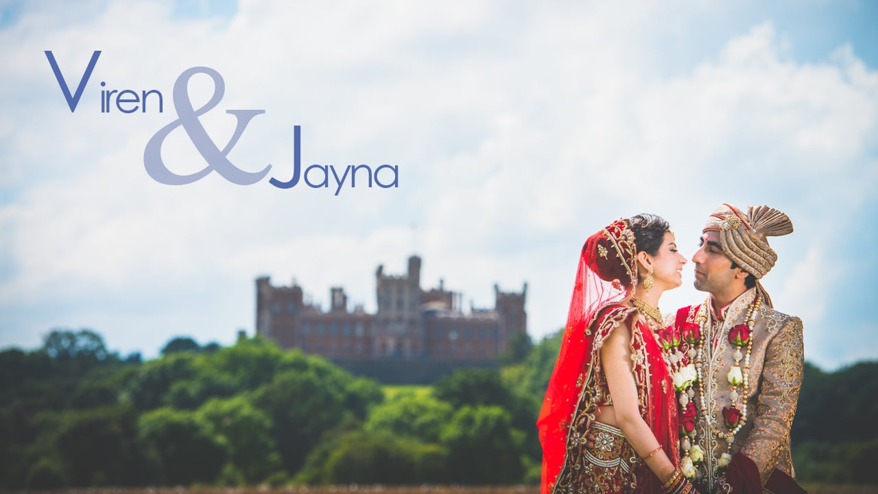 Viren & Jayna's Moments - Indian Wedding, Civil Ceremony & Reception at the Belvoir Castle