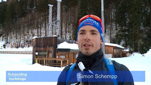 40 Jahre Ruhpolding Simon Schempp & Andreas Birnbacher