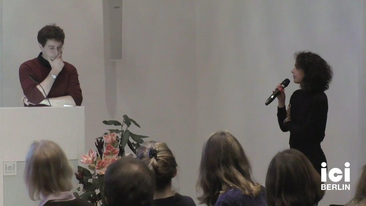 Discussion with Sven Lütticken