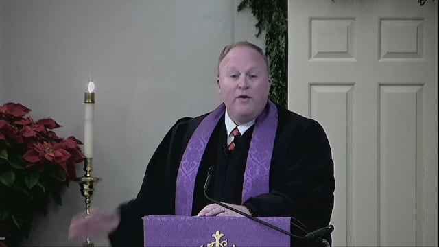 End of Advent? Beginning of Faith? Either, or Both? - December 24, 2017