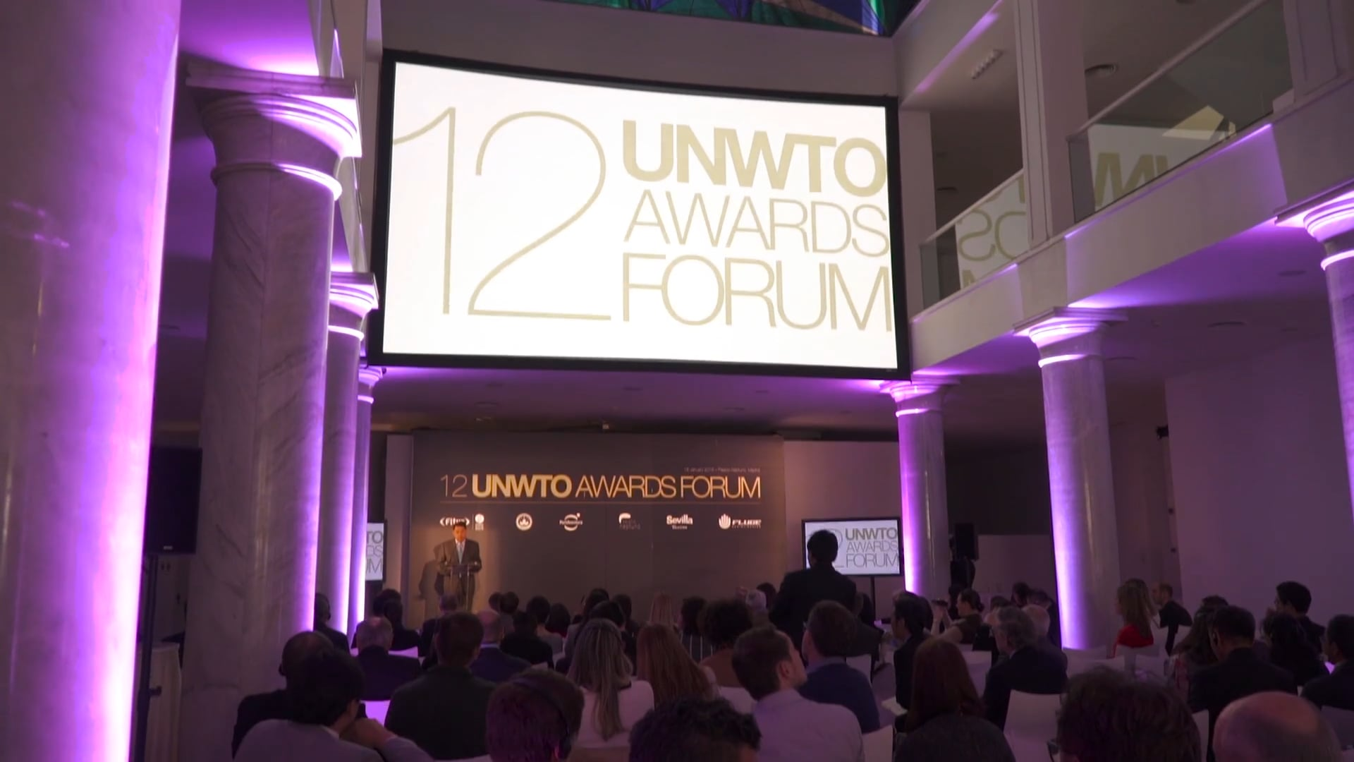 Auditorio para eventos en Madrid - Palacio Neptuno - UNWTO AWARDS FORUM