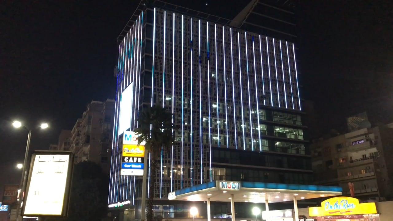 LED Building Facade