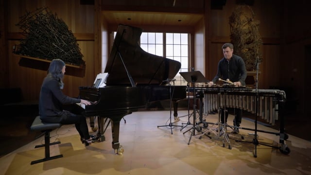 Vicky Chow and Doug Perkins play John Luther Adams: Red Arc/Blue Veil