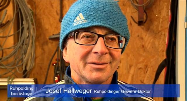 40 Jahre Ruhpolding Josef Hallweger