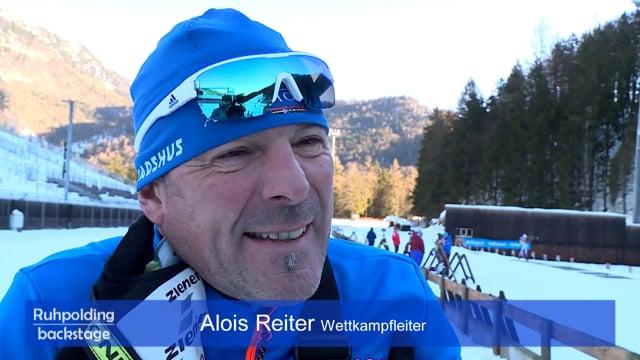 40 Jahre Ruhpolding Engelbert Schweiger und Alois Reiter neu