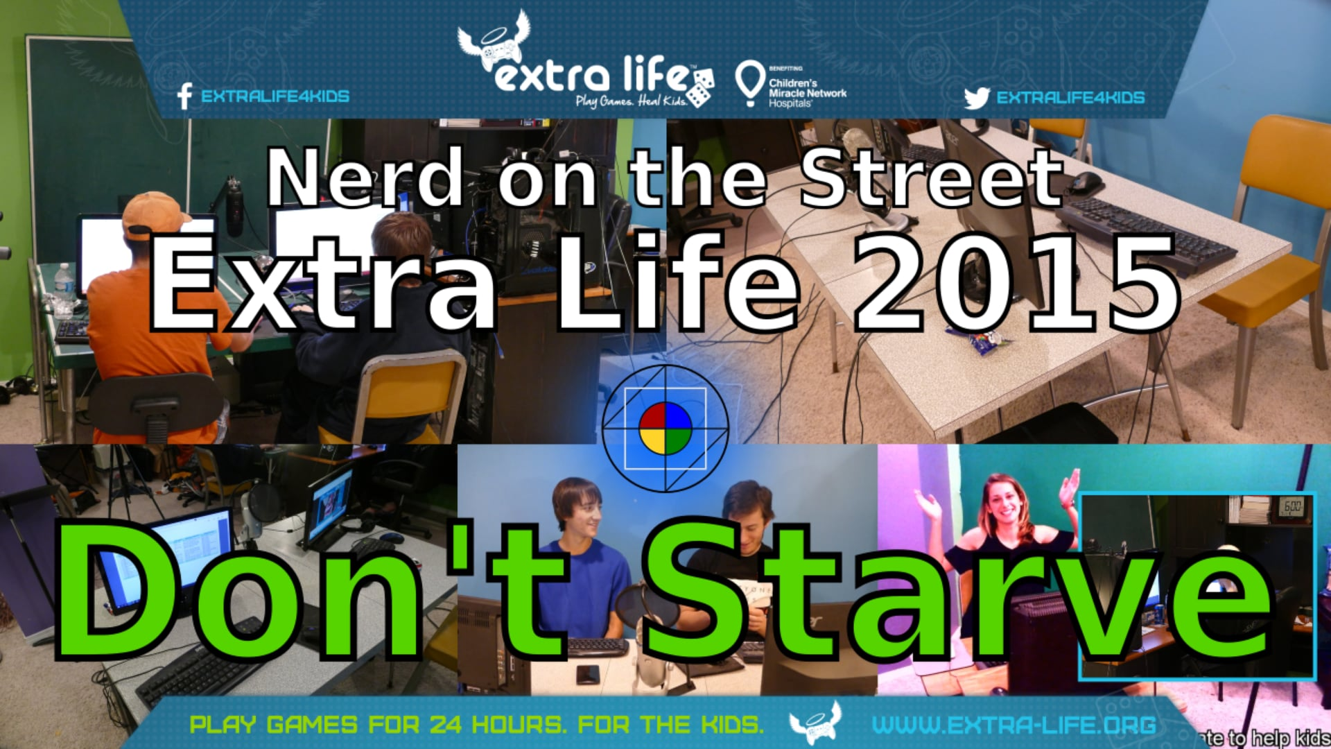 Don't Starve Together - Extra Life 2015