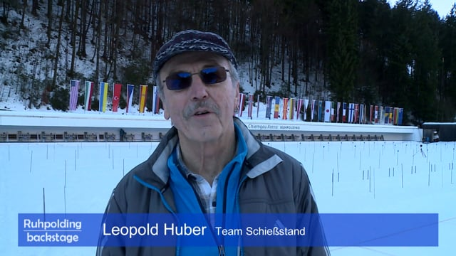 40 Jahre Ruhpolding Leopold Huber