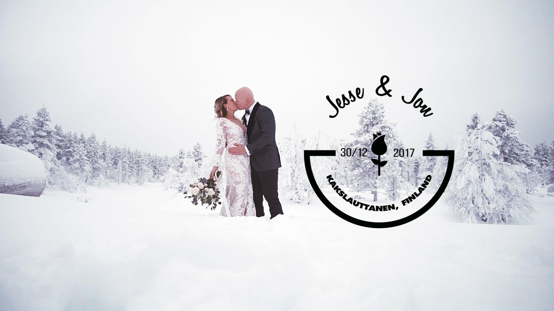 Jesse & Jon 2017 Wedding Highlights