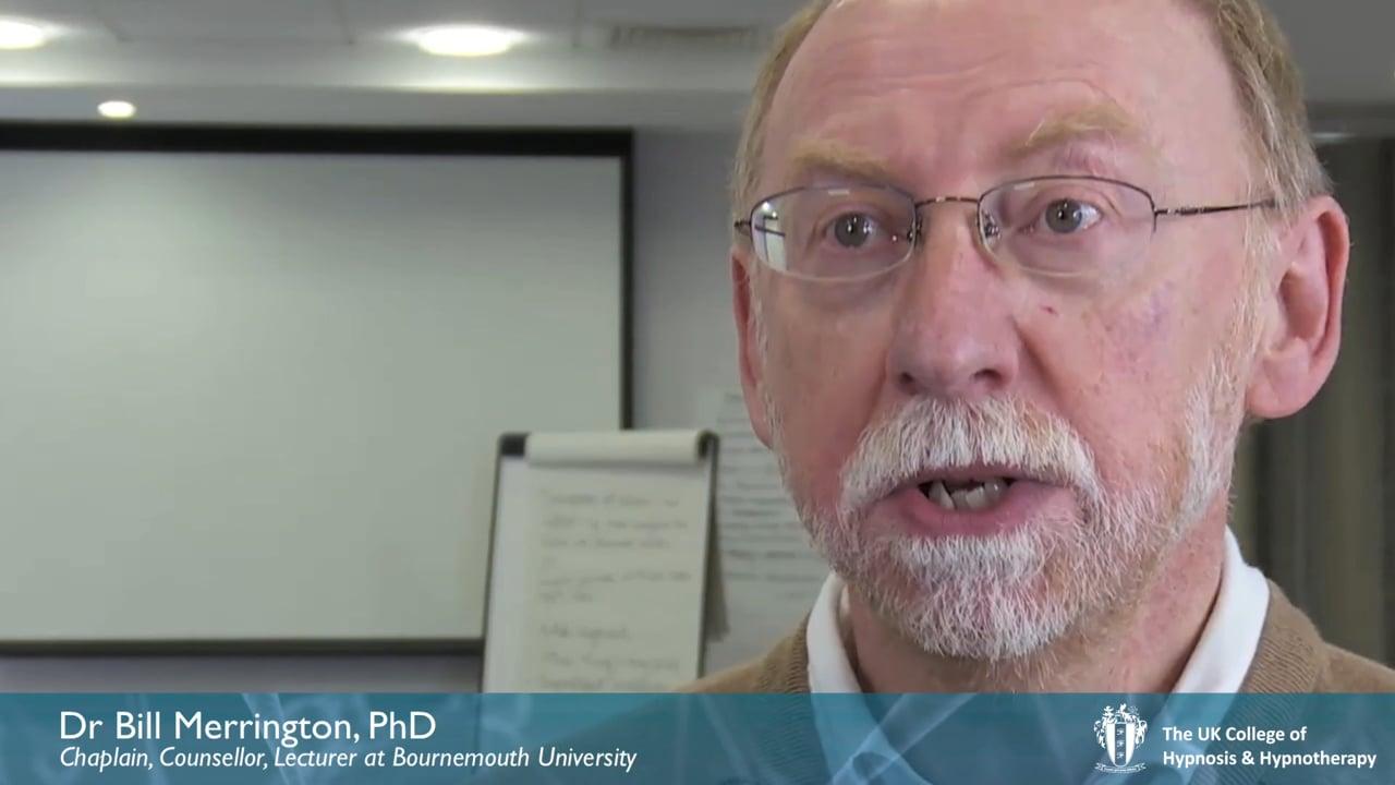 Interview: Dr Bill Merrington PhD, Counsellor, Chaplain, Lecturer