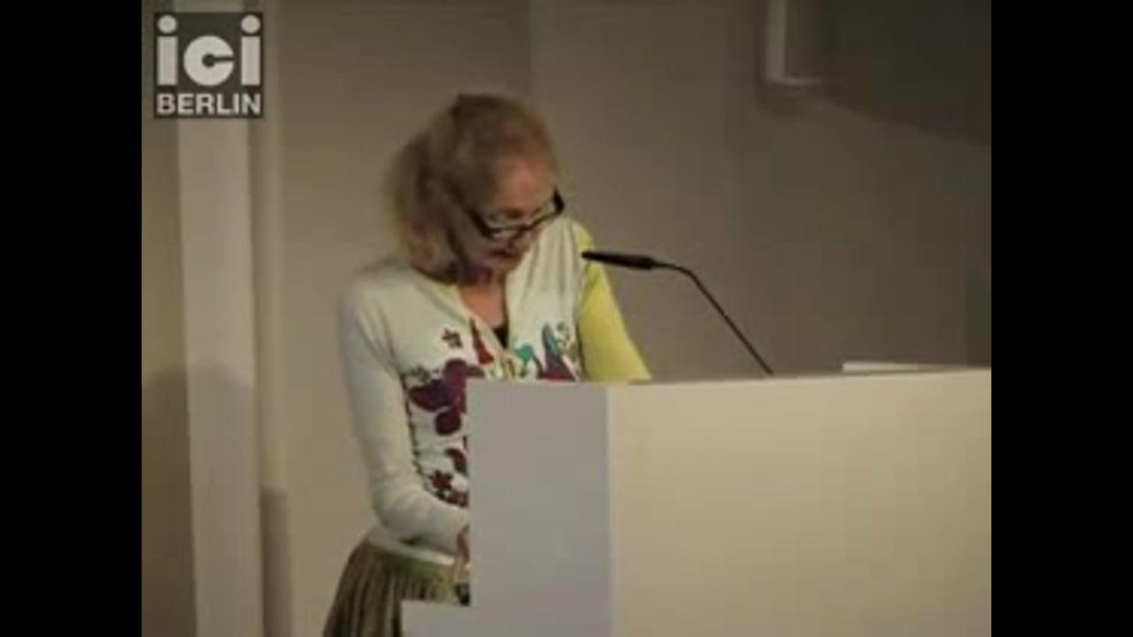 Talk by Françoise Balibar