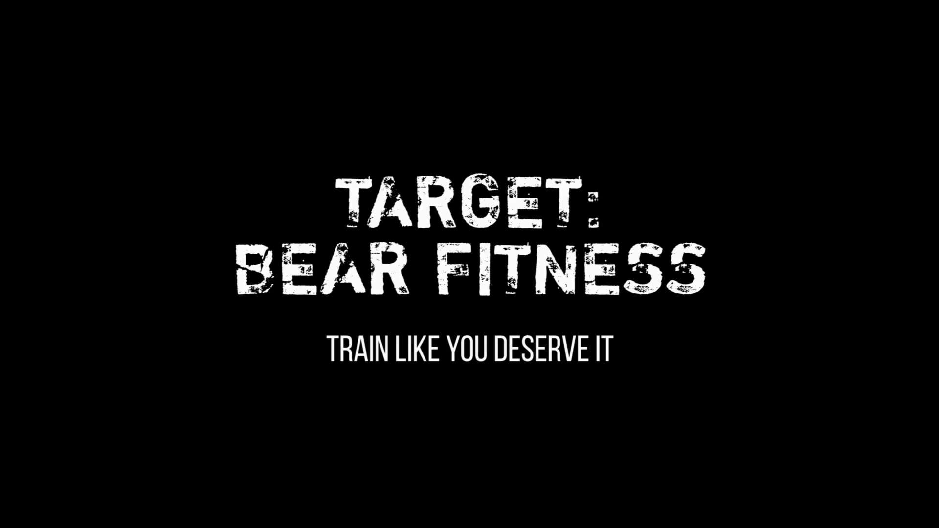 Target Bear Fitness