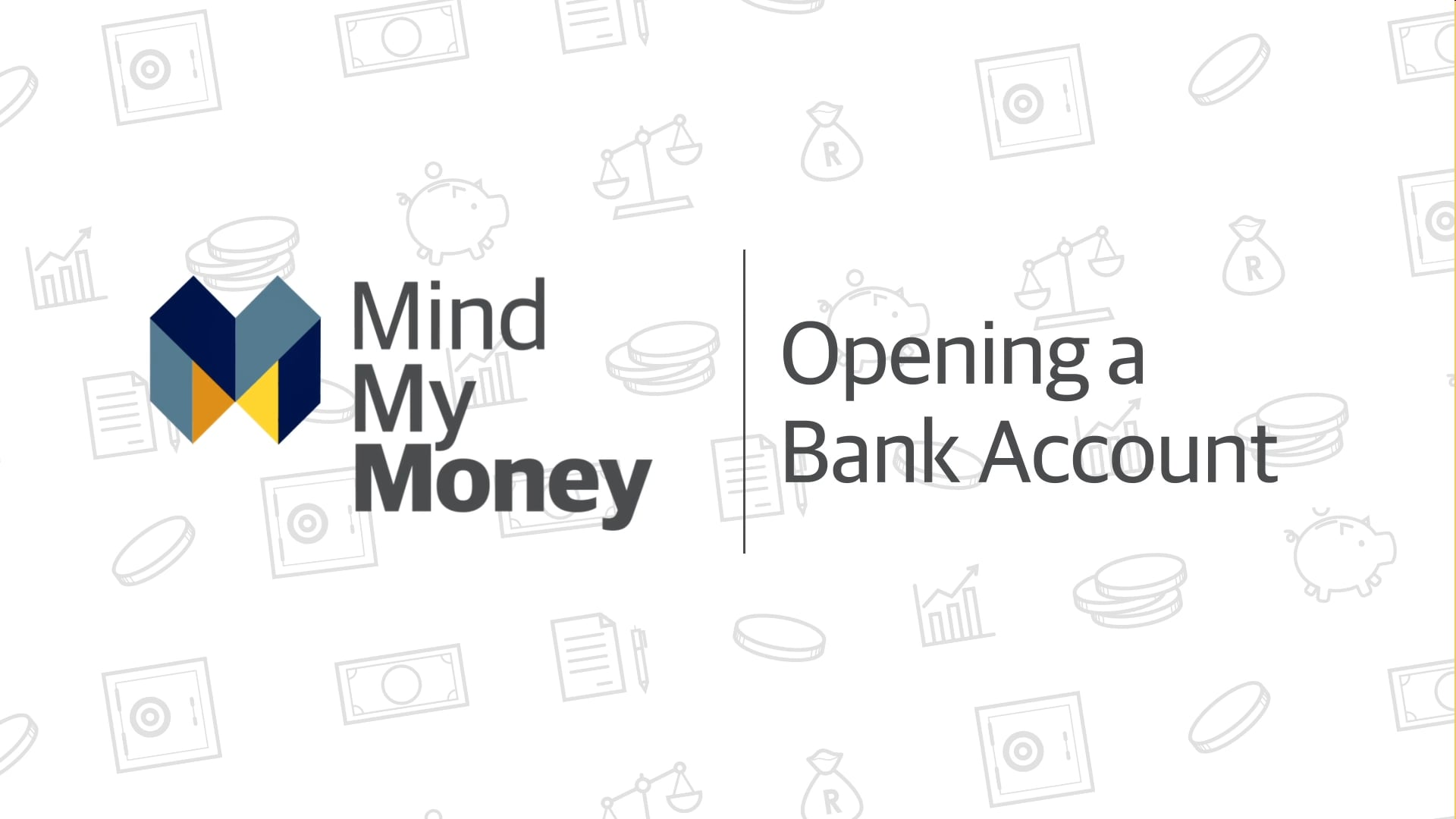 Opening a Bank Account
