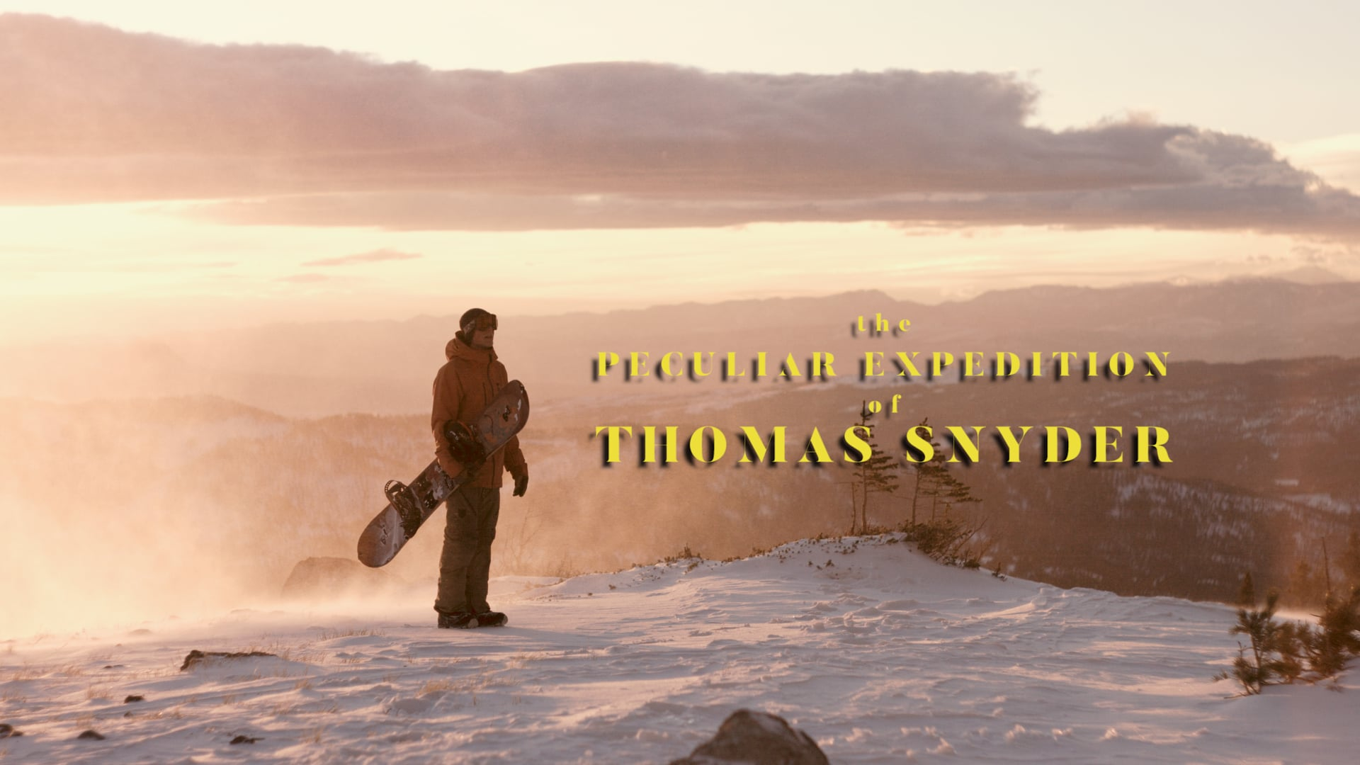 The Peculiar Expedition of Thomas Snyder