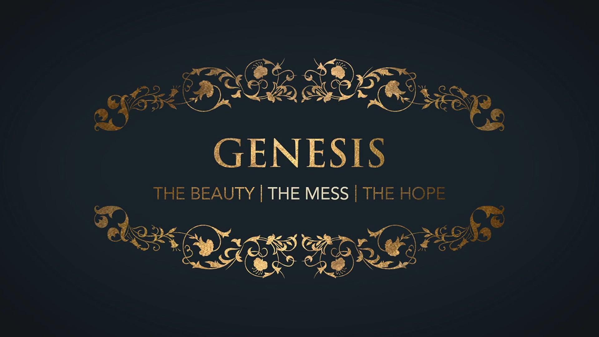 Week 1: Genesis: The Mess -  How We Got Here