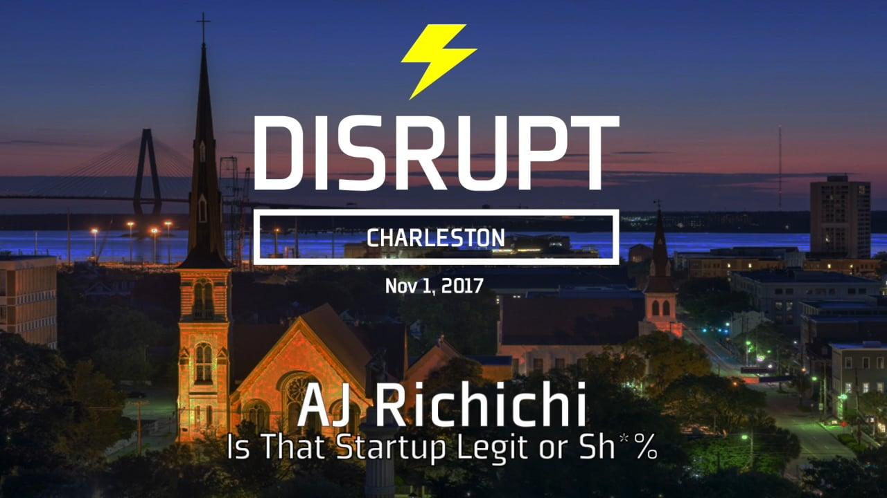 Is That Startup Legit Or Sh*% | AJ Richichi | DisruptHR Talks