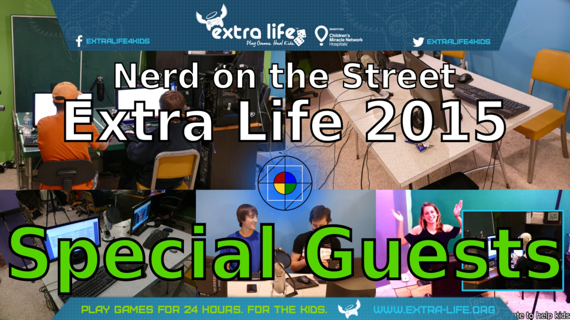 Unexpected Guests - Extra Life 2015