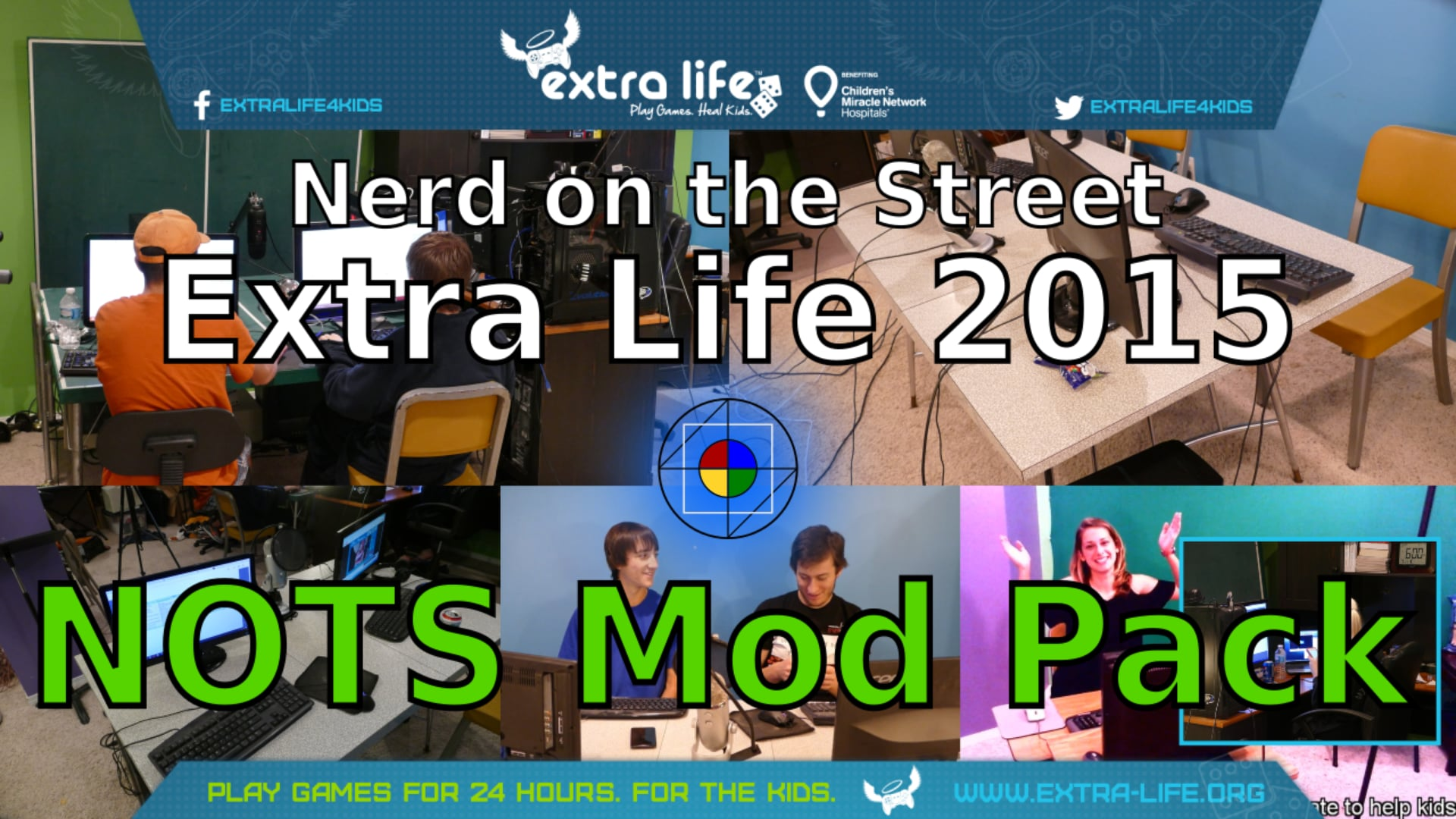 NOTS Mod Pack - Extra Life 2015