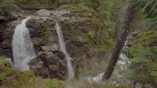 Nooksack Falls, Mt. Baker Area