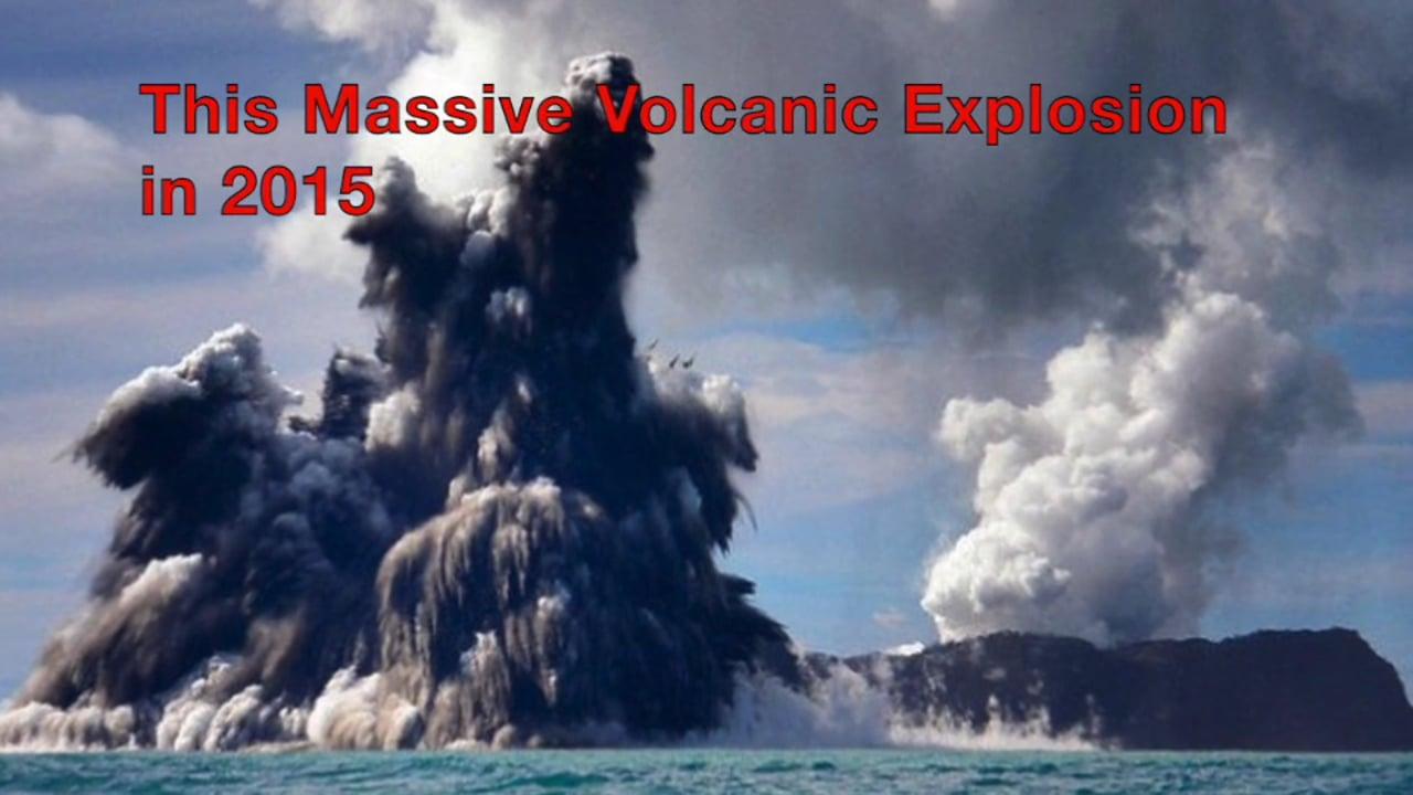 Exploring a New Volcanic Island in the South Pacific, Hunga Tonga, Hunga Ha'apai in Tonga