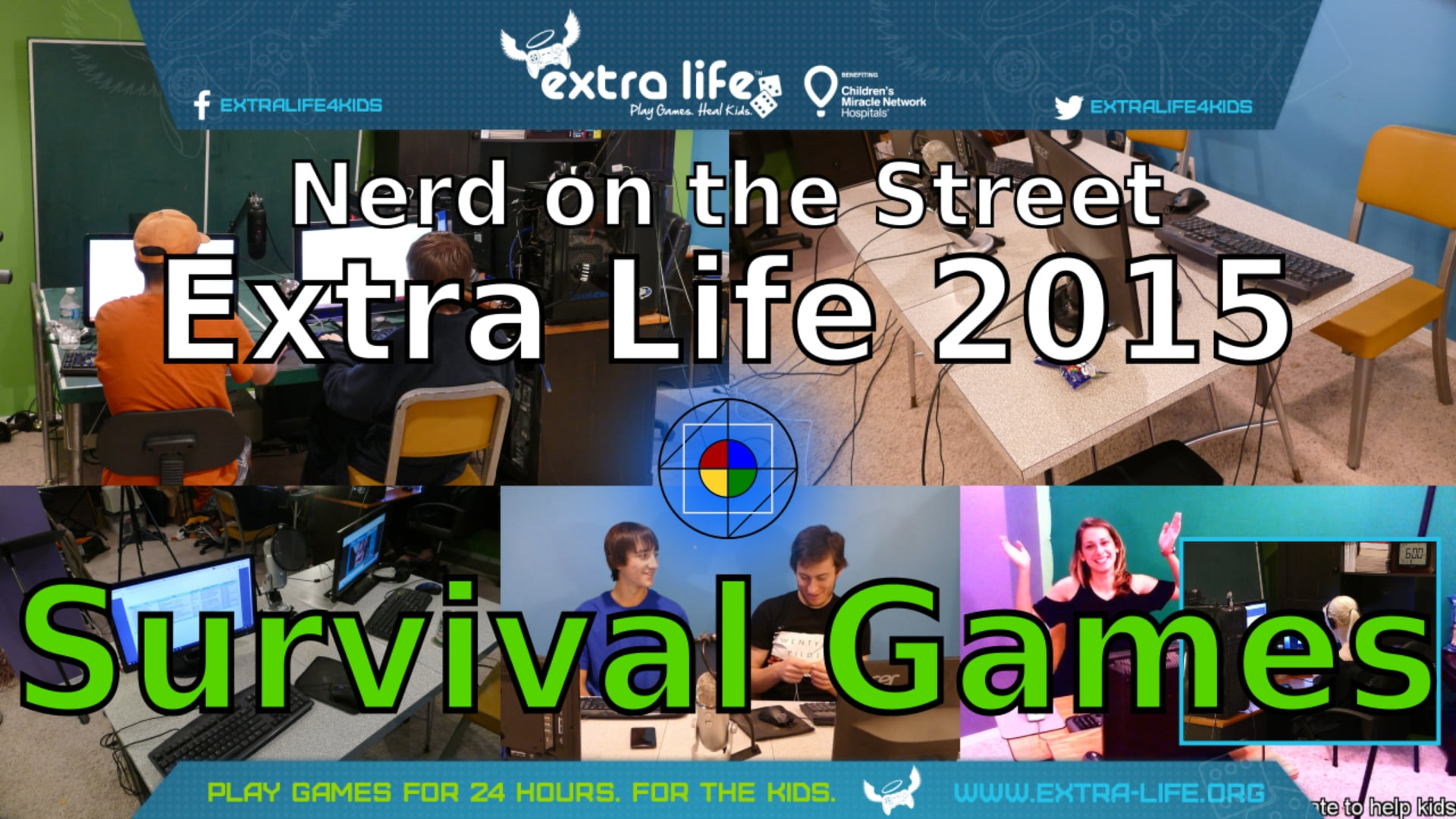 Survival Games - Extra Life 2015