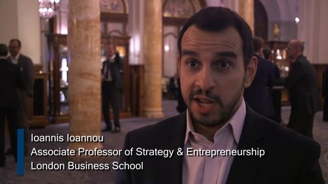 Global Investors Summit - Speaker Interview: Ioannis Ioannou, London Business School