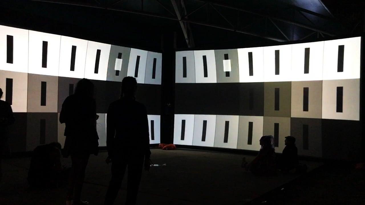 Sacred Geometry - Audiovisual Installation