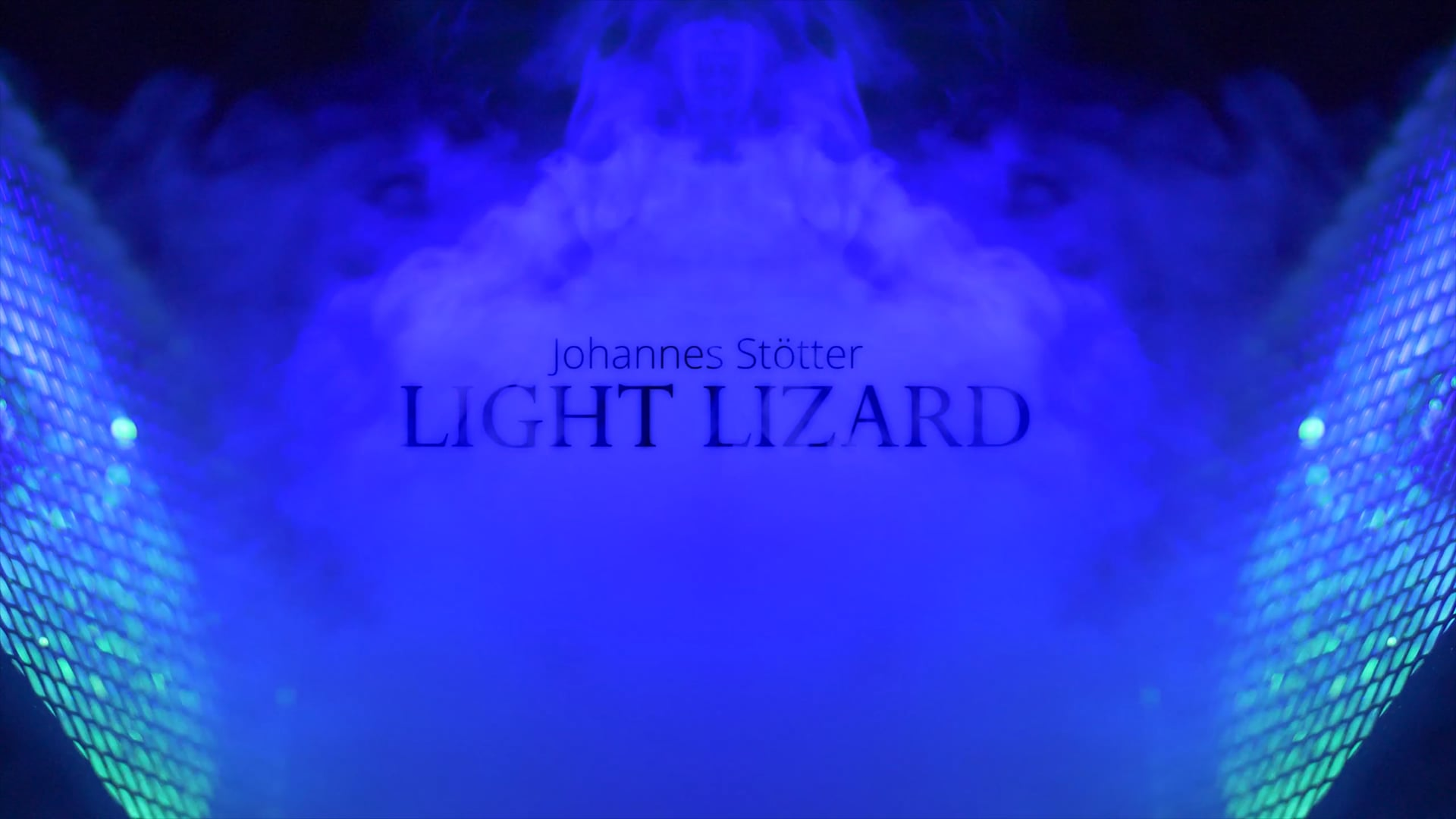 Light Lizard UV Bodypainting Show by Johannes Stötter