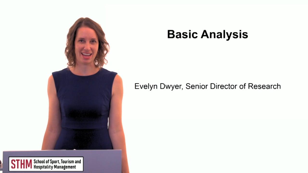 60612Basic Analysis