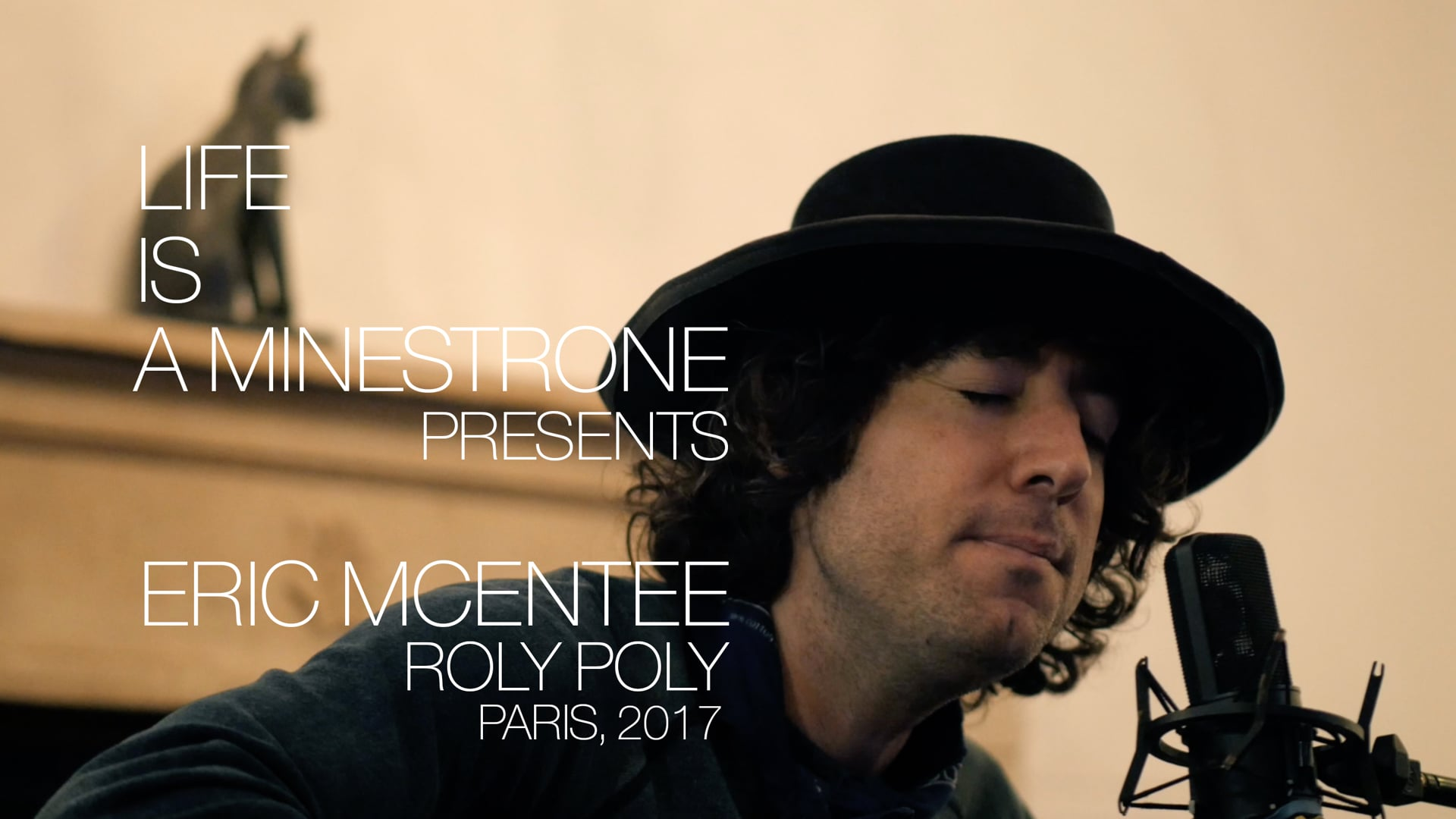 Eric McEntee: Roly Poly / Paris November 2017