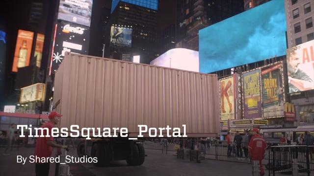 Times Square Portal