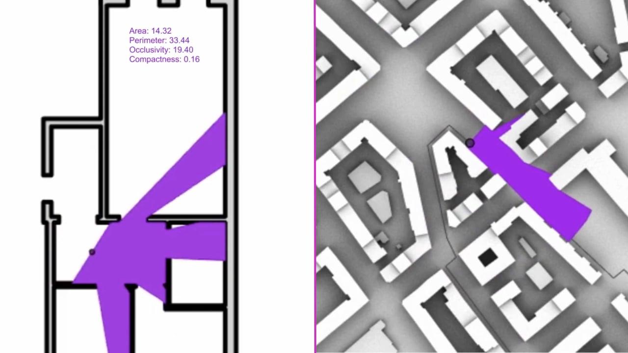 Teaser: Computational Analysis & Synthesis of Urban Morphology using RhinoGH