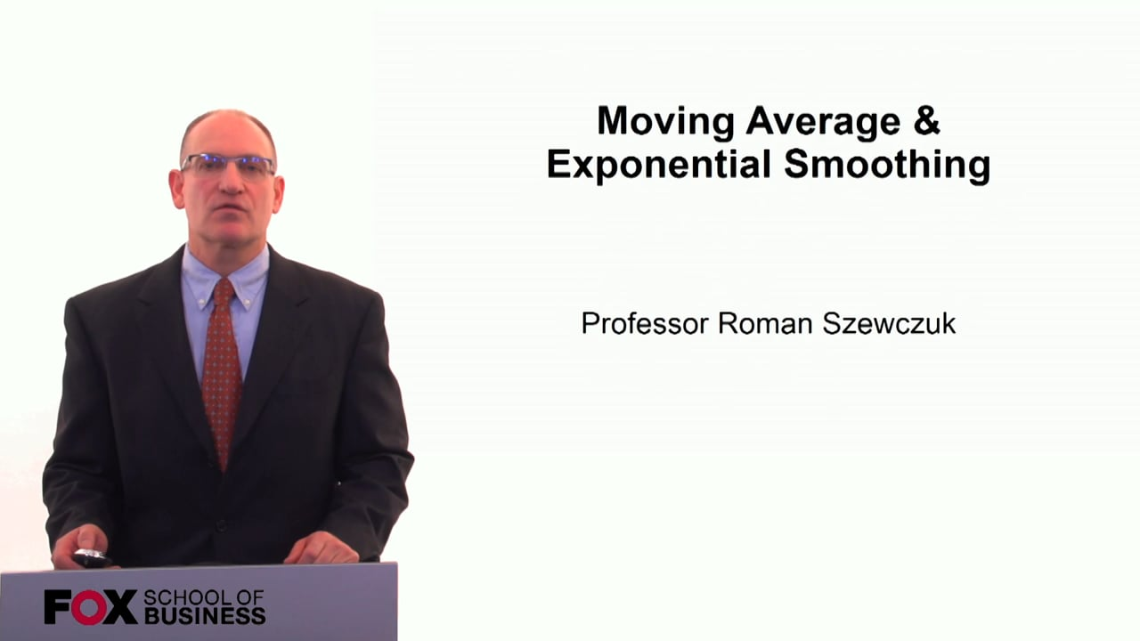 60264Moving Average & Exponential Smoothing