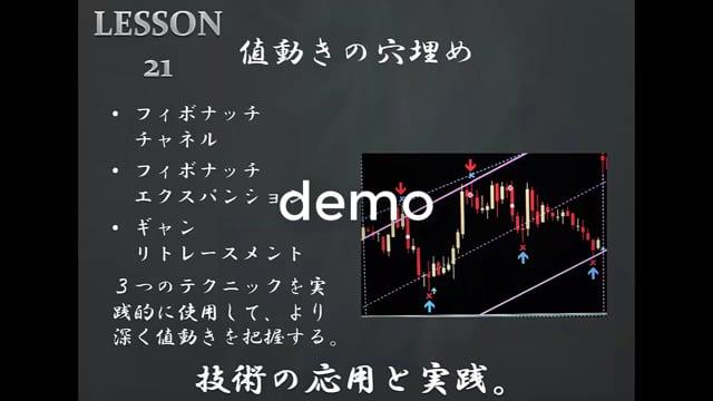 LESSON21「値動きの穴埋め」デモ動画
