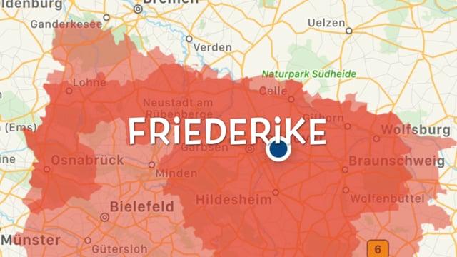 Orkan Friederike - Lehrte