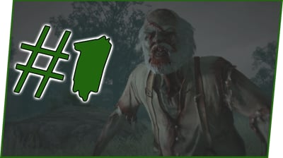 FIRST DAY IN THE ZOMBIE APOCALYPSE! - Red Dead Redemption Undead NightMare Walkthrough