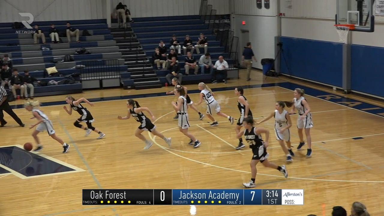 JV Girls Basketball-2018-Jan-19-Oak Forest