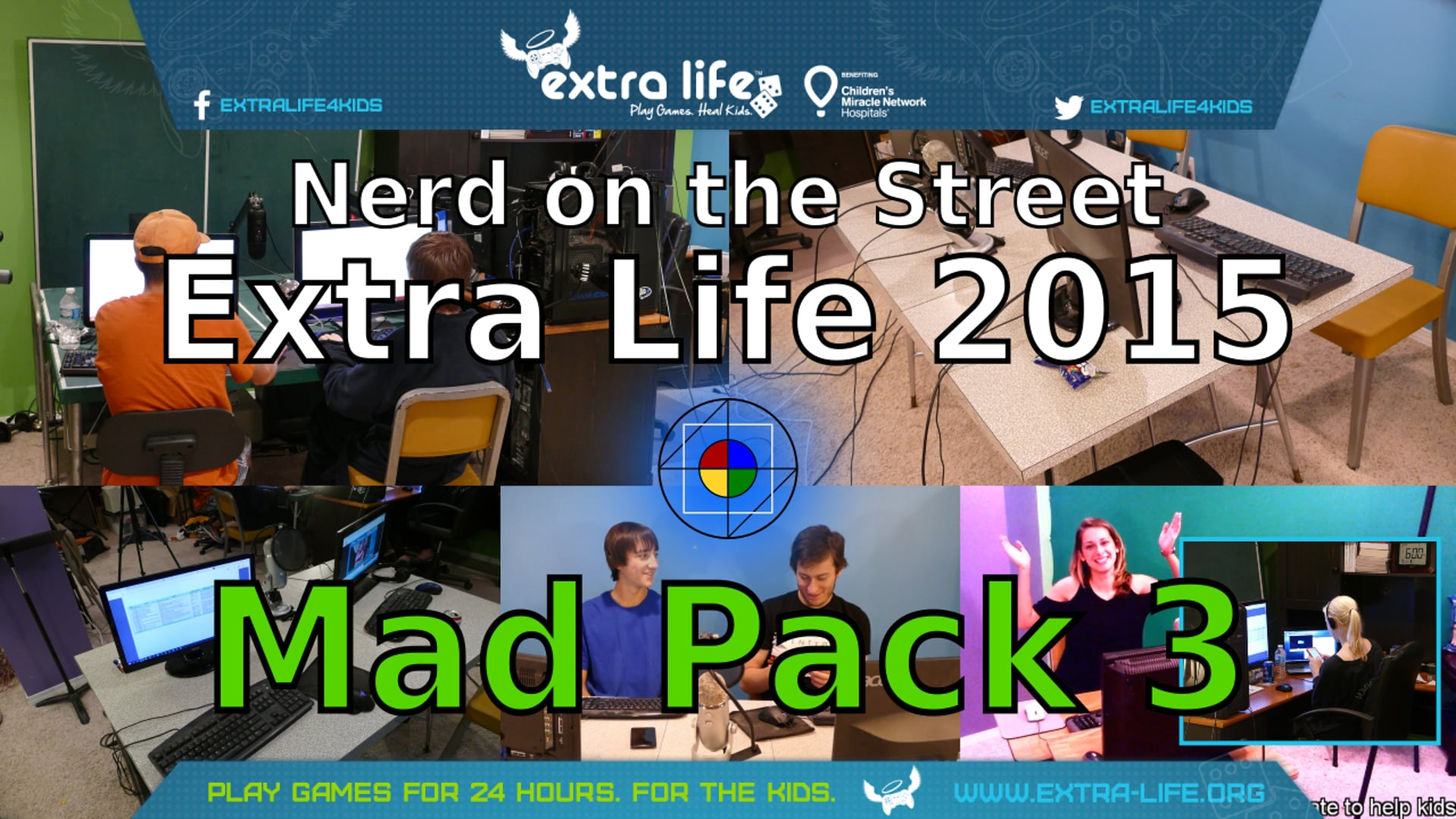 Mad Pack 3 - Extra Life 2015