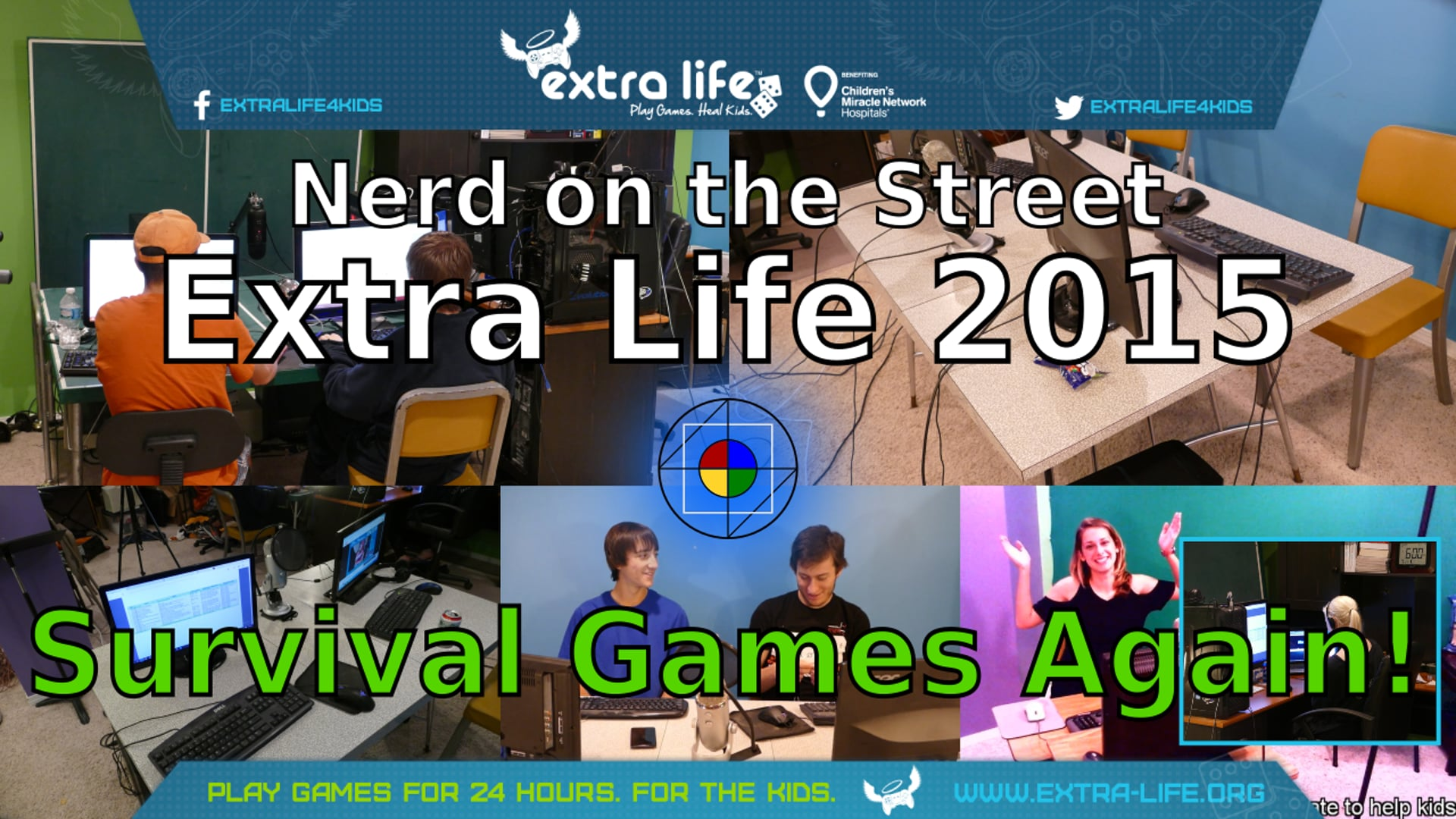Survival Games, Part 2 - Extra Life 2015